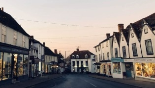 Great Dunmow market town