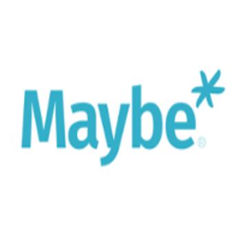 Maybe* logo