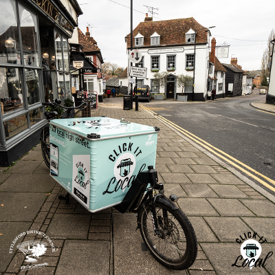 Click it Local bicycle in Dunmow