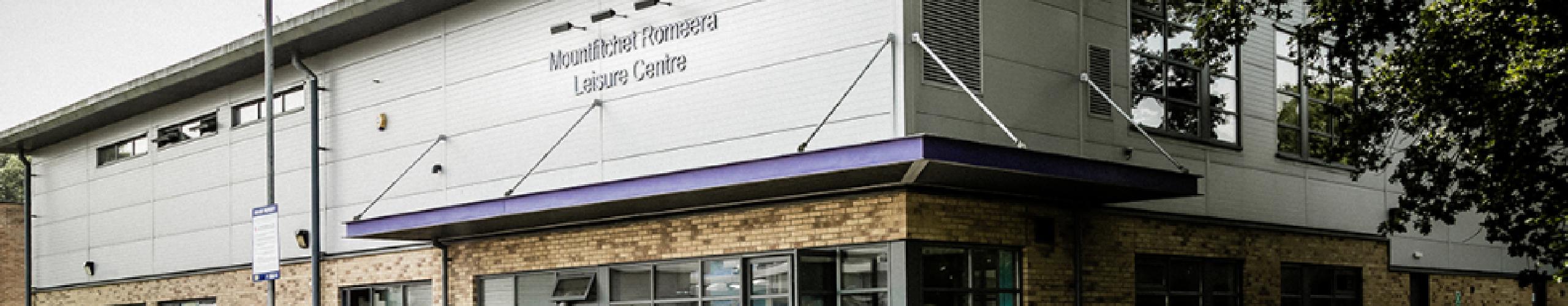 Mountfitchet Romeera Leisure Centre panel background
