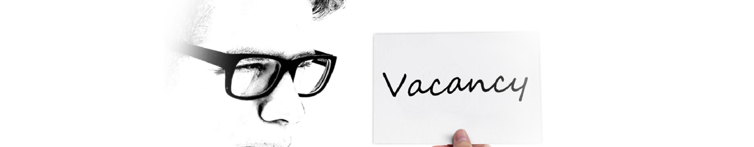 Vacancy panel background