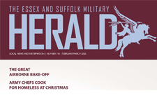 Partial front cover of Essex and Suffolk Military Herald