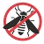 Wasp pest icon