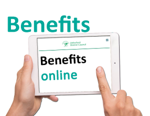 Manage your benefits online