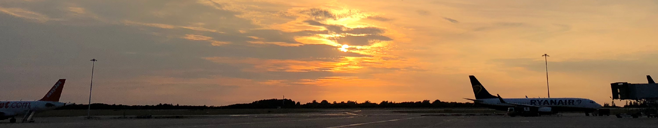 Stansted Airport background
